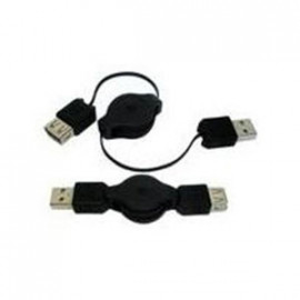 CABLE RETRACTABLE USB AB