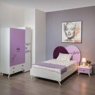 Chambre Enfant Violette 3...