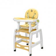 chaise haute bébé 3 fonctions