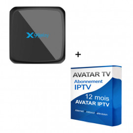 Pack  BOX Android TV +...