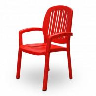 Chaise de Jardin Blindée Rouge