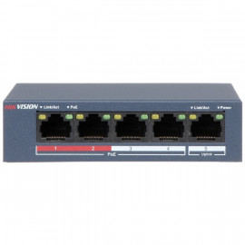 SWITCH DE BUREAU 5 PORTS POE