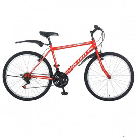 Vélo VTT IN-OUT Mtb 26 Rouge