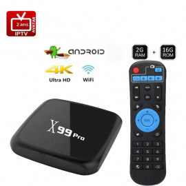 Pack Android Box + Carte...