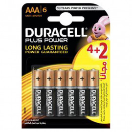 Piles DURACELL Power Plus AAA
