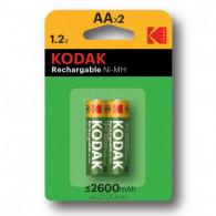 2x Piles KODAK Rechargeable...