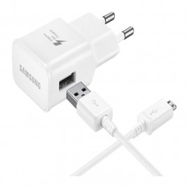 CHARGEUR SAMSUNG USB  WHITE