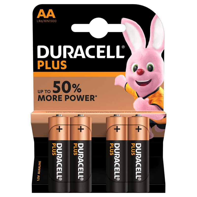 Piles Alcaline DURACELL Plus Power AAA