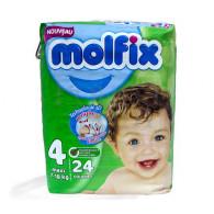 COUCHES MOLFIX BEBEE T4...