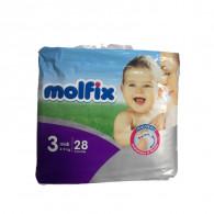 COUCHES MOLFIX BEBEE T3...
