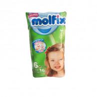 COUCHES MOLFIX BEBEE T6...