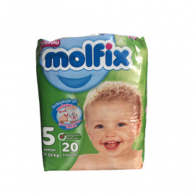 COUCHES MOLFIX BEBEE T5...
