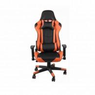 Chaise Pilote Gaming - Orange