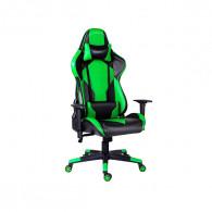 Chaise Pilote Gaming Vert