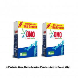 2 Packets Omo Matic Lessive...