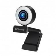 Webcam SANDBERG USB Streamer - Noir