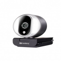 Webcam Pro SANDBERG USB Streamer - Noir