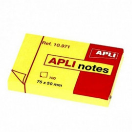STICK NOTES 75X50 COUL...