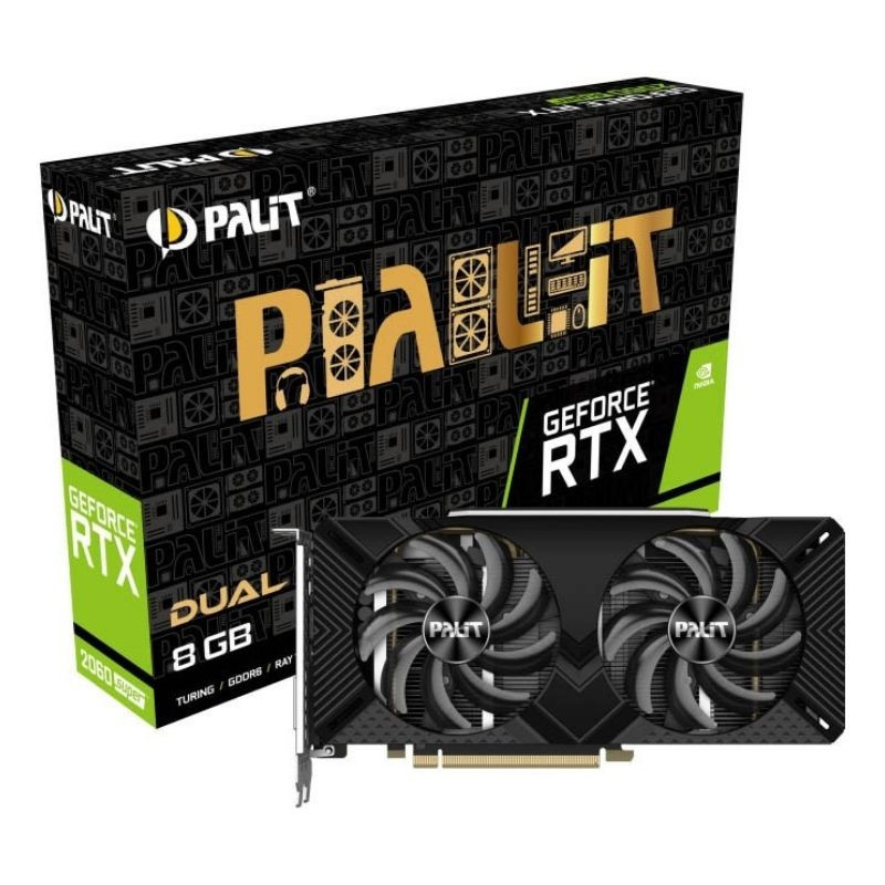 Carte Graphique Palit Rtx 2060 Super Dual 8GB