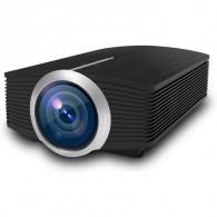 Mini projecteur vidéo de MiraScreen LED, mini projecteur portatif de cinéma à la maison LED de support 1080P résolution