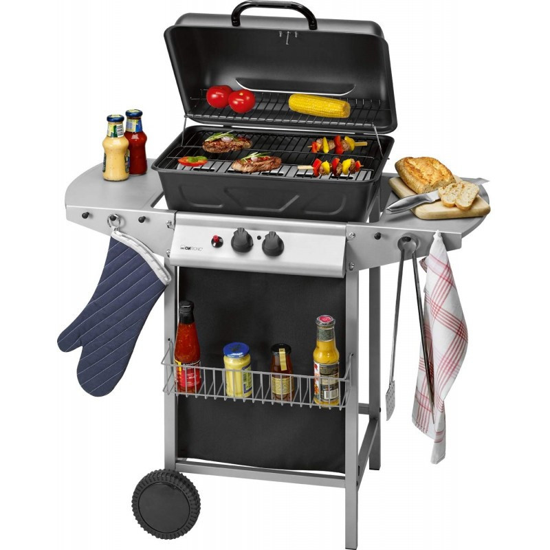 Barbecue Grill CLATRONIC 5500W - Noir