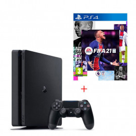 Play Station 4 Slim 1T+Jeux Fifa 2021