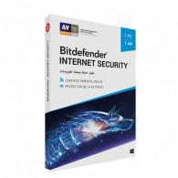 Antivirus Bitdefender Internet Security - Licence 1 Poste - 1 an