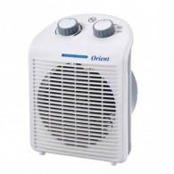 Ventilateur 2en1 Électrique Orient Blanc OCE-1750